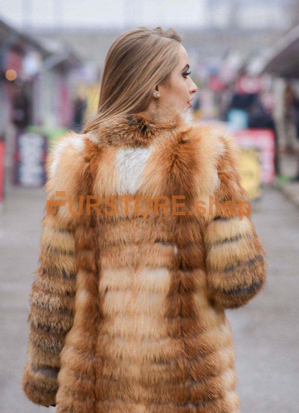 Women's fur coat transformer from natural fox fur - FURSTORE.SHOP - online  web store of women's fur clothes from Ukraine